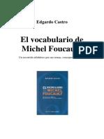 El Vocabulario de Michel Foucault