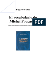 El Vocabulario de Michel Foucault