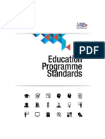 Program Standards Education