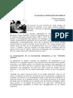 Baudelot Establet La Escuela Capitalista en Francia