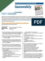 Lower intermediate lesson plan (December)