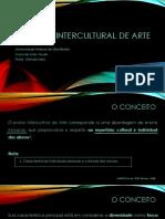 Interculturalidade no ensino de Arte