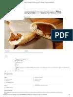 Alfajores Cordobeses de Dulce de Leche - Recetas – Cocineros Argentinos