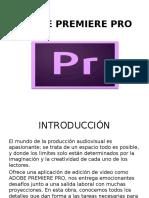 Adobe Premiere Pro Diapositiva