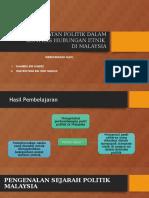 Permuafakatan Politik Dalam Konteks Hubungan Etnik