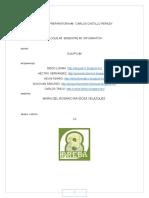 Proyecto. Informatica III