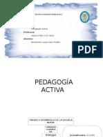 Pedagogía Activa