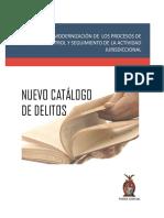 Catalogo de Delitos Penales
