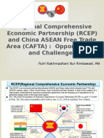 Presentation-RCEP and CAFTA