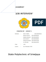 Paper Job Interview
