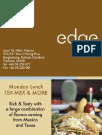 Hiltonpattaya Lunch Edge7Days