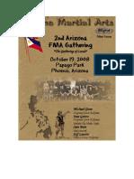 FMA Mini Issue 2ndArizona FMA