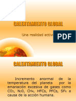 CaleCALENTAMIENTO GLOBAL