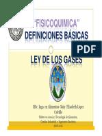 1 Fisicoquimica-Conceptos y Ley de Los Gases 2