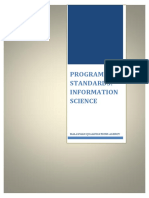 Program Standards_Information Science