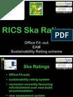 Retrofitting 6.03 RICS Ska Ratings