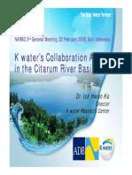 NARBO_Ko-water Collaboration Activity-Citarum River