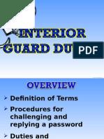 Interior Guard Duty