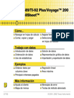 CellSheet Guidebook Espanol
