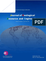 Journal of Geological Resource and Engineering,Vol.3,No.1,2015(1)