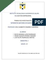 Diferentes Motores de Bases de Datos