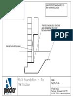 Protech GM - Raft Foundation (Membrane Below Slab)
