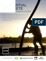 Ccanz Residential Concrete Slab-On-ground Floors
