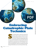 Embracing Catastrophic Plate Tectonics