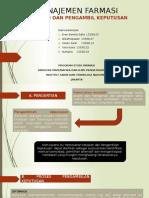 Manajemen Farmasi ( Kel 7 )