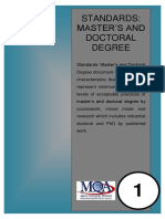Standards_Master's and Doctoral Degree