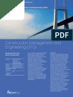 Delft MSc ConstructionManagementEngineering