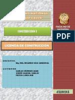 Definiciones Licencia de Construccion