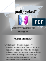 Sociology 350 - Equally Yoked Studies - Slide Show