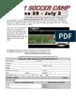 Soccer Camp Registration 2010