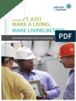 JCI UniversityRelations BrochurebusinessMASTER Spring 2016