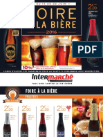 Foire à la bière 2016 d'Intermarché