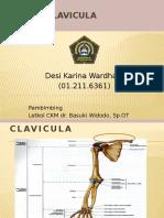Referat Fraktur Clavicula Fix Desi Karina