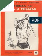Láminas Emilio Freixas - Serie 10. Estudios Del Cuerpo Humano