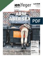 Arm aber Sexy - Ausgabe 09 2016 strassenfeger