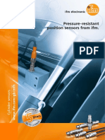Pressure-resistant position sensors from ifm 2016 English
