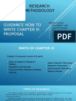 How to Write Chapter 3 Proposal (Presentation)