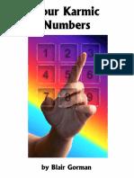 Karmic Numbers