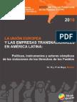 La Unión Europea y las empresas transnacionales en América Latina