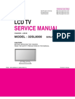LG 32SL8000 Chassis LD91K