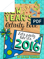 Free New Years Activity Book