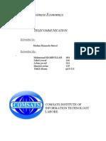 Business Economics TELECOMMUNICATION