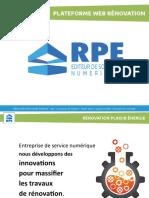 Plateforme Web Renovation Collectivitée Territoriale Rpe