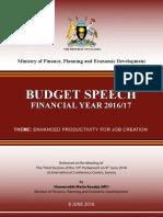 Uganda Budget Speech