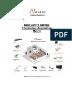 Dc Cabling Info Acquisition Matrix