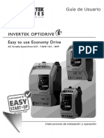 Invertek Ode-2 User Guide Iss2.05_español